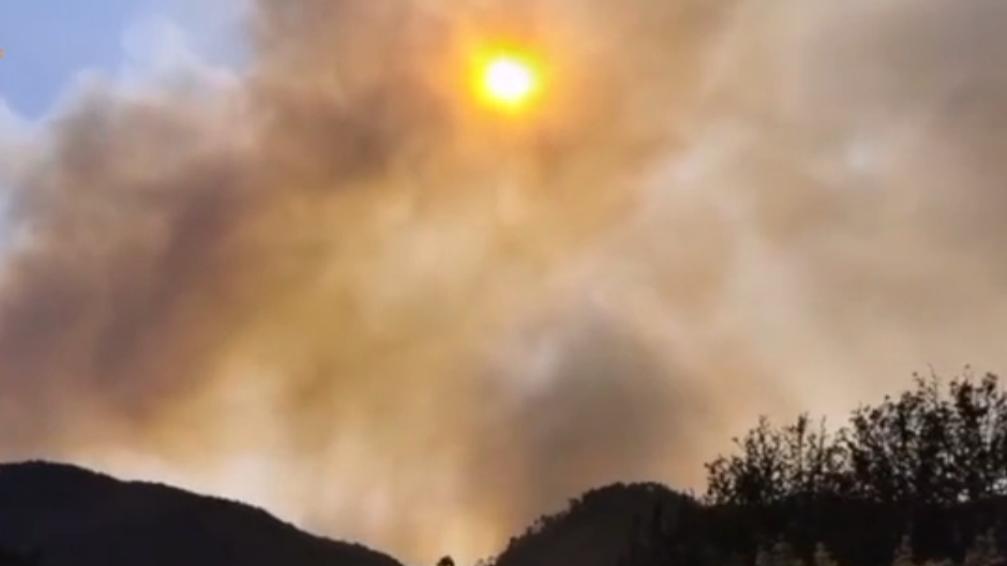 四川涼山森林火災持續撲救中