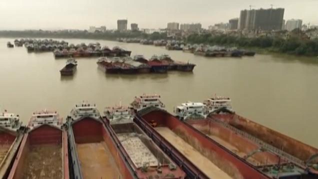 廣西:大藤峽船閘試運行 黔江恢復通航