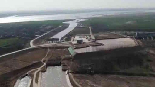2020年黃河全流域生態調度正式啟動