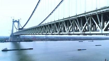 施工再提速!五峰山長江大橋確保今年如期通車