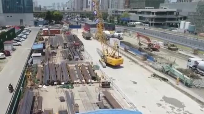 江蘇:蘇州軌道交通S1線多車站封頂