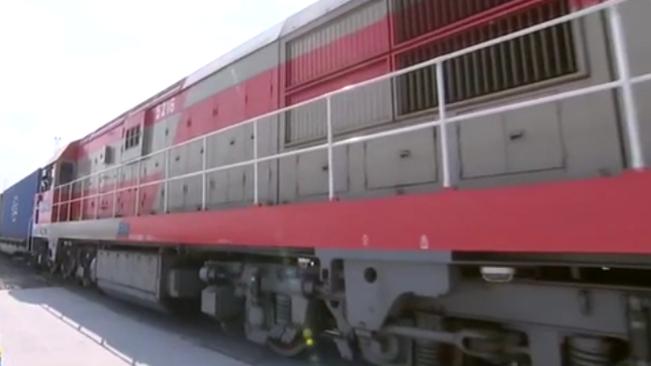 浙江:寧波舟山港鐵路穿山港站正式啟用