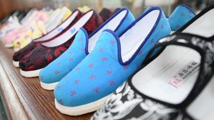"""老布鞋""""走""""出致富新路子"""