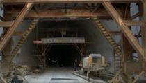 重慶:鄭萬鐵路重慶段小田坪隧道貫通