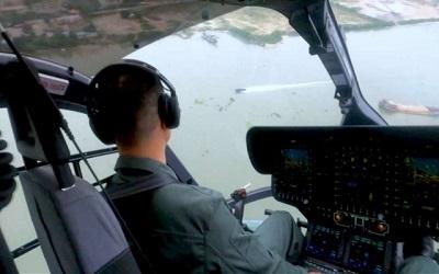 堪比大片!廣州警方海陸空三線追捕走私凍品團夥