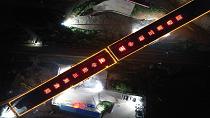 贛深高鐵江西段最長轉體梁成功轉體