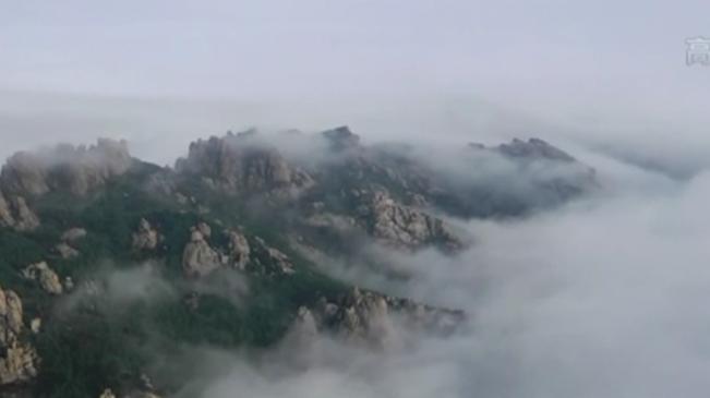 山東青島:嶗山出現雲海奇觀