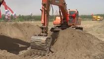 內蒙古:推進生態治理 岱海應急補水工程開工