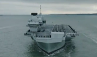英國最新航母曝出漏水事故