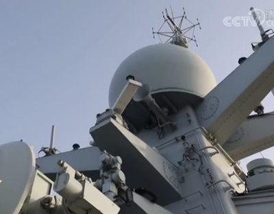 海軍兩批護航編隊完成任務交接展開聯合護航