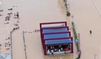 中國華南地區出現強降雨