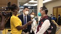 赤道幾內亞:中國抗疫醫療專家組抵達