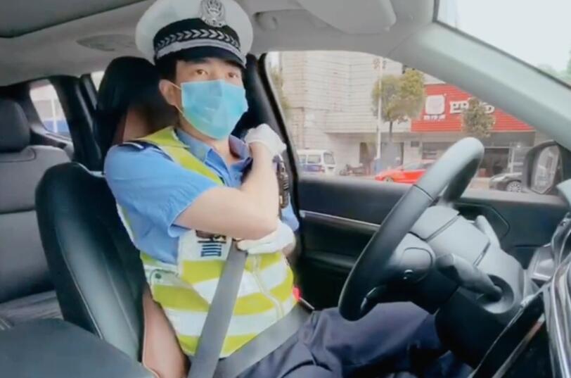 遠離危險!交警小哥哥教你如何正確係安全帶