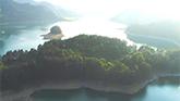 重慶小南海水位下降 高山湖泊現地質奇觀