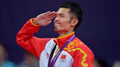 羽毛球奧運冠軍林丹宣布結束國家隊生涯