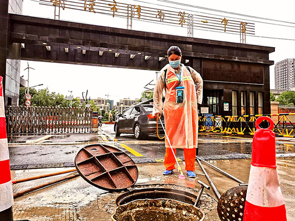 武漢:排澇消殺為高考保駕護航