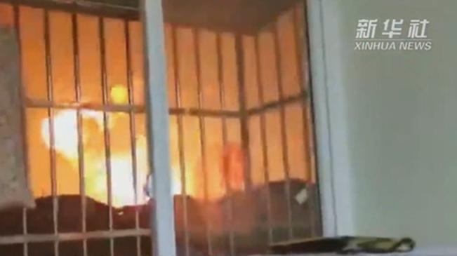 四川廣漢市花炮廠起火爆炸事故致6人受傷