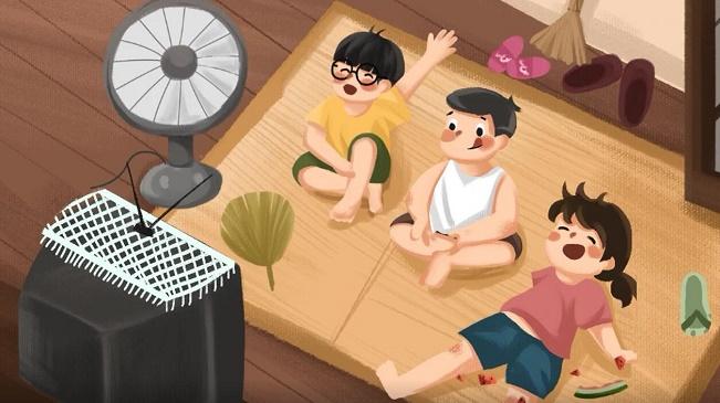 夏日幻想,重溫我們小時候的暑假生活
