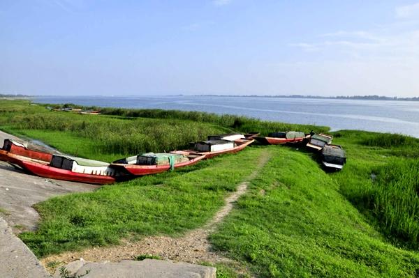 直擊:湖北老河口重拳嚴查漢江非法捕撈