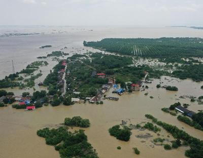 水利部:全國共有433條河流發生超警以上洪水