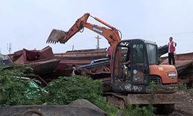 湖北襄州:打擊非法捕撈 保護漢江生態