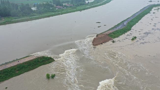 滁河爆破泄洪!安徽啟用兩處蓄洪區