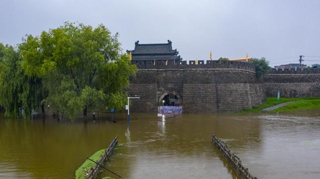 """微視頻:這座千年古城重啟""""封門防汛"""""""