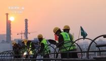 北京城市副中心樞紐試驗段樁基工程基本完工