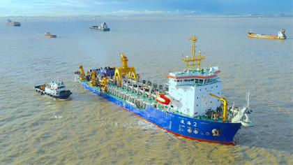 雙向通航!廣州港深水航道拓寬工程完工