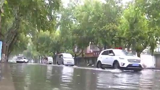 中國多地迎來強降雨天氣
