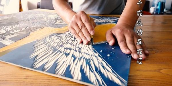 科爾沁版畫:刻在木板上的傳承
