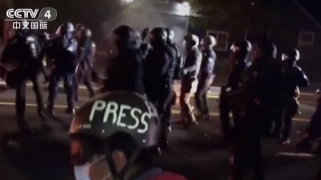 美國波特蘭抗議活動進入100天
