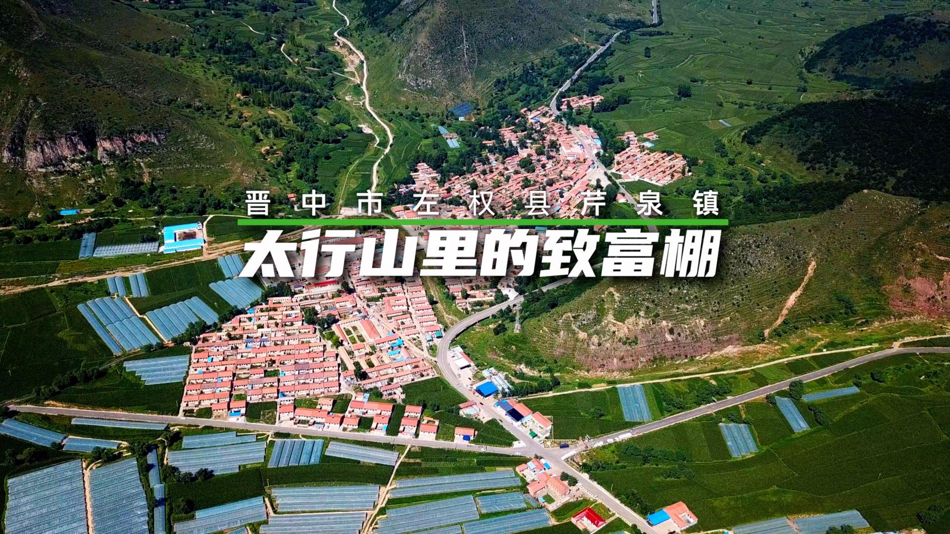 """【""""飛閱""""中國】太行山裏的致富棚"""