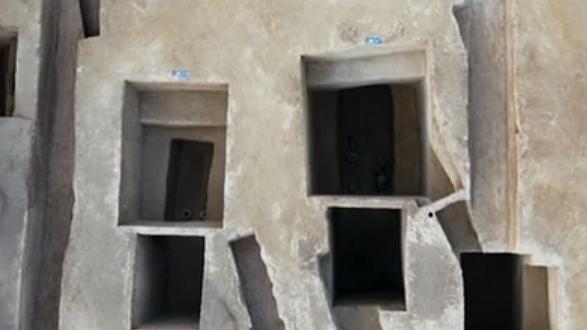 黃河嘉園項目考古發現超600座古墓