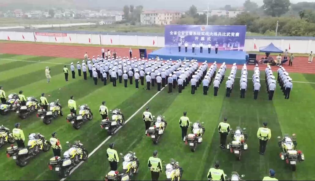 """戰鬥力""""爆棚""""!江西交警""""練兵比武""""一線直擊"""