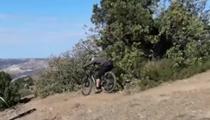 刺激!蜿蜒崎嶇 克裏米亞舉辦山地騎行賽