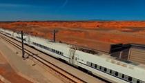 坐著高鐵看中國:蘭新高鐵為區域經濟發展注入活力
