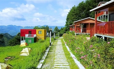 湖北興山:扶貧廊道美 村民生活甜
