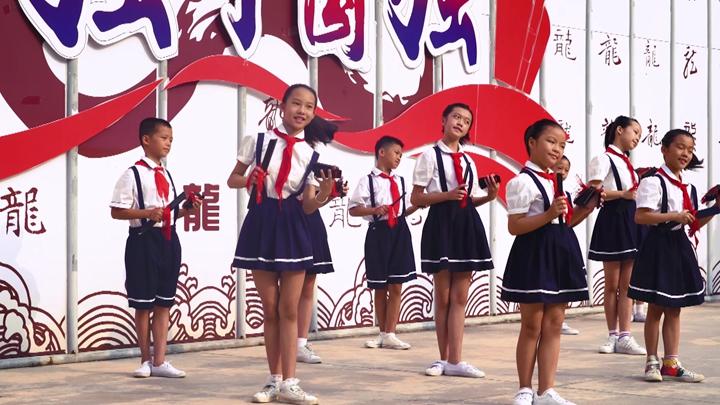 小學生唱快板 光盤行動不能忘