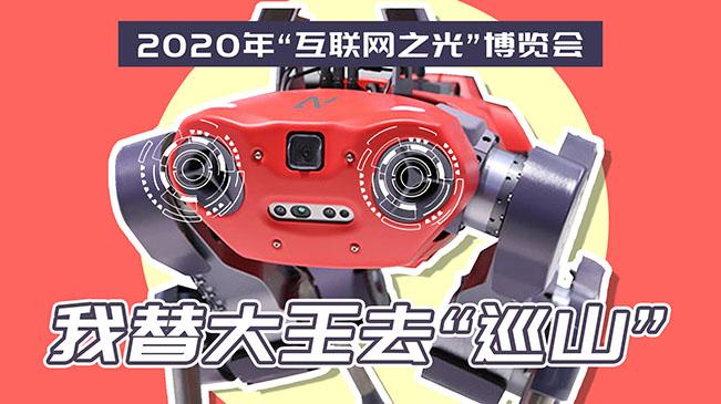 """2020年""""互聯網之光""""博覽會丨我替大王去""""巡山"""""""