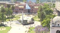 阿根廷民眾送別馬拉多納