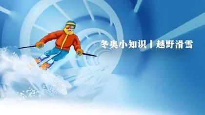 冬奧小知識丨越野滑雪