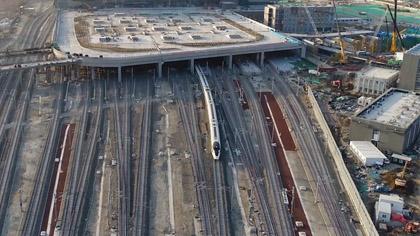 開通倒計時!京哈高鐵北京至承德段進入運行試驗階段