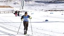 河北張家口:國家越野滑雪中心首次啟用