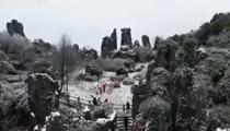 廣安華鎣山——霧凇冰挂美不勝收