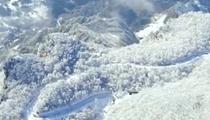 陜西漢中:龍頭山雪景與霧凇齊現 美不勝收