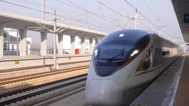 微視頻:發車!合安高鐵開通運營