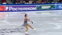 """帶病上陣 俄花滑女選手""""全俄賽""""再奪冠"""