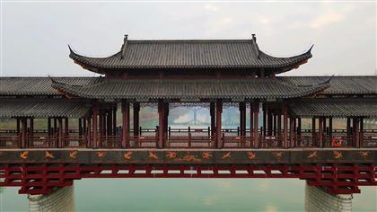 江西吉安:書院廊橋好風景 古色古香引客來