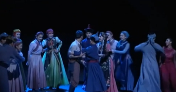北京:原創舞劇《騎兵》亮相國家大劇院